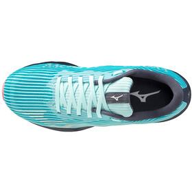Mizuno Wave Shadow 4 Shoes Women bleached aqua/snow white/ombre blue